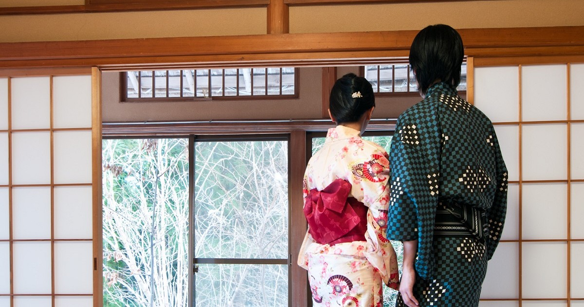 dressing in hakone ryokan